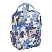 Рюкзак для мамы TaiDent Цветы с ручками (Синий)