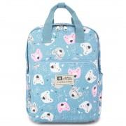 Рюкзак для мамы TaiDent Мишки с ручками (Голубой)