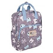 Рюкзак для мамы TaiDent Мишки с ручками (Серый)