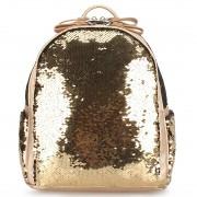 Рюкзак с пайетками меняющими цвет (Желтый)