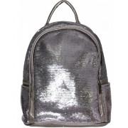 Рюкзак с пайетками меняющими цвет (Серебро)