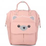 Подростковый рюкзак Мишка (Розовый)