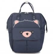 Подростковый рюкзак Мишка (Синий)