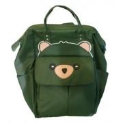 Подростковый рюкзак Мишка (Зеленый)