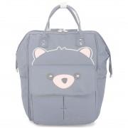 Подростковый рюкзак Мишка (Серый)