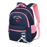 Рюкзак школьный Sun eight SE-8255 (Темно-синий-розовый)