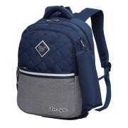 Рюкзак школьный в комплекте с пеналом Sun eight SE-2642 (Темно-синий-серый)
