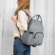 Рюкзак для мамы Tigernu T-B3358 (Светло-серый)