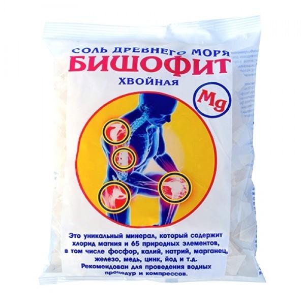 Бишофит сухой с ионами серебра Saules Sapnis (0.5 кг)