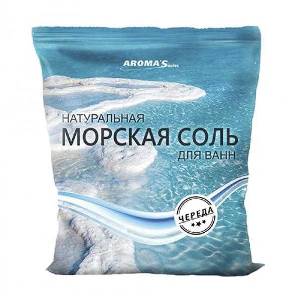 Соль морская для ванн Saules Sapnis с экстрактом череды (1 кг)