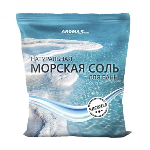 Соль морская для ванн Saules Sapnis с экстрактом чистотела (1 кг)