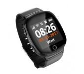Умные часы с телефоном и GPS трекером Smart Watch D100 (Черные)