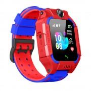 Умные детские часы с телефоном и GPS трекером Smart Watch Q19 (Красный)