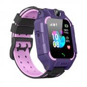 Умные детские часы с телефоном и GPS трекером Smart Watch Q19 (Фиолетовый)
