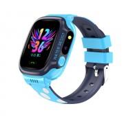 Умные детские часы с телефоном и GPS трекером Smart Watch Y92 (Голубой)