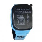 Умные детские часы с телефоном и GPS трекером Smart Watch F6 (Голубой)