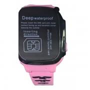 Умные детские часы с телефоном и GPS трекером Smart \Watch F6 (Розовый)