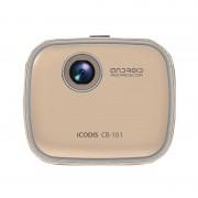 Портативный проектор iCODIS  CB-101 (Золотистый)