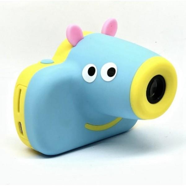Детский цифровой фотоаппарат Пеппа HIINST (Голубой)