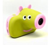 Детский цифровой фотоаппарат Пеппа HIINST (Розовый)