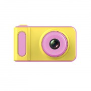 Детская цифровая мини камера фотоаппарат от 3 лет Photo Camera Kids Mini Digital (Розовый)