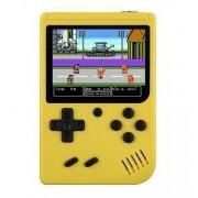Игровая консоль Gamepad Retro FC Plus ретро игры 168 в 1, 8 Бит 2 игрока джойстик (Желтый)