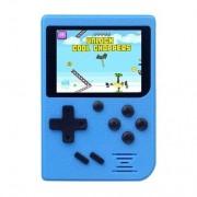 Игровая консоль Gamepad Retro ретро игры 400 в 1, 8 Бит 2 игрока джойстик (Синий)