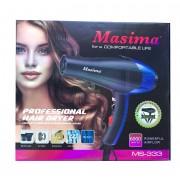 Фен Masima MS-333 Professional 6000Вт. 2-насадки