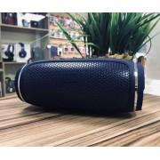 Колонка J009 беспроводная Bluetooth/USB/MicroSD/c функцией Power Bank/Soft touch (Синий)