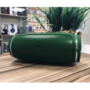 Колонка J009 беспроводная Bluetooth/USB/MicroSD/c функцией Power Bank/Soft touch (Зеленый)