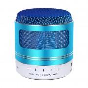 Портативная Bluetooth колонка mini speaker BO-Q9 с Led подсветкой (Голубой)
