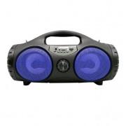 Портативная колонка ZQS-4215 с USB, SD, радио, Bluetooth (Синий)
