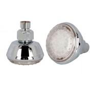 Светодиодная насадка для душа с LED подсветкой (Серебро)