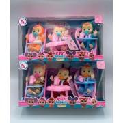 Край беби куклы плаксы Magic Tears Плачущий младенец набор из 3 кукол в коробке
