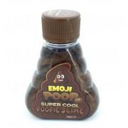 Лизун жидкий слайм перламутровый Emoji Poop Super Cool Poopie Slime какашка