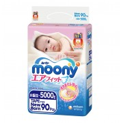 Moony подгузники NB (0-5 кг), 90 шт.