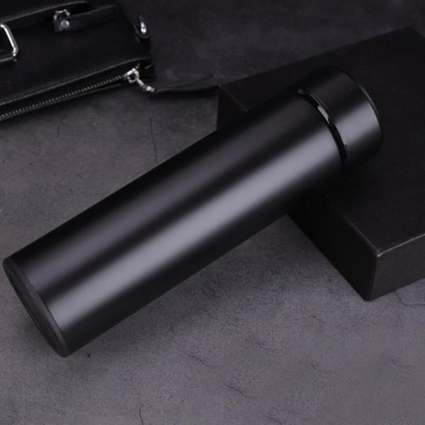 Умный термос с термодатчиком MINIPRO (Черный)