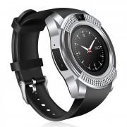 Умные часы Smart UWatch V8 (Серебро)