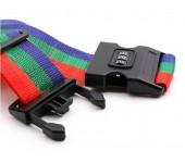 Багажный ремень c кодовым замком Bagagerie luggage strap with 3 digit combination (Трехцветный)