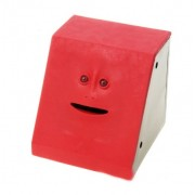 Эмоциональная жующая копилка Face Bank (Красный)