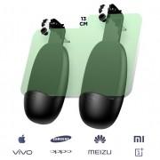 Геймпад контроллер джойстик для смартфона Joyroom JR-ZS185 (Черно-зеленый)