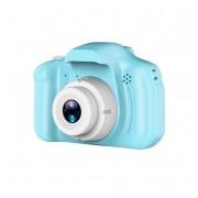 Детская цифровая мини камера фотоаппарат X2 цифровой (Голубой)