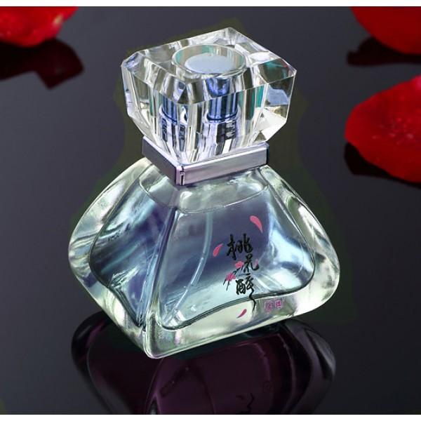 Мужской парфюм с феромонами с ароматом цветков персика Peach Blossom Drunk 30 ml (Голубой)