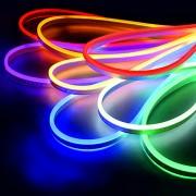 Неоновая светодиодная LED лента Гибкий неон 5м