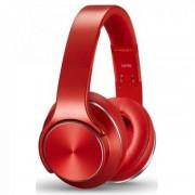 Беспроводные накладные Bluetooth наушники Sodo mh5 (Красный)