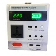 Портативный электрогенератор переносной Portable Power Bank with ac output SZU-228