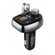Автомобильное зарядное устройство T61 QC3.0 Quick Dual USB Bluetooth FM-передатчик Mp3-плеер