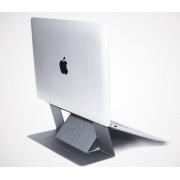 Невидимая универсальная подставка для ноутбука, регулируемый складной держатель, ультратонкий (Серый)