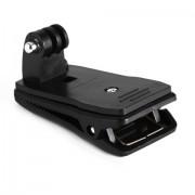 Зажим прищепка для GoPro (Черный)