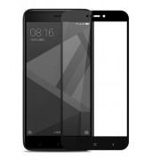 Защитное стекло для Xiaomi Redmi 4X (Черный)